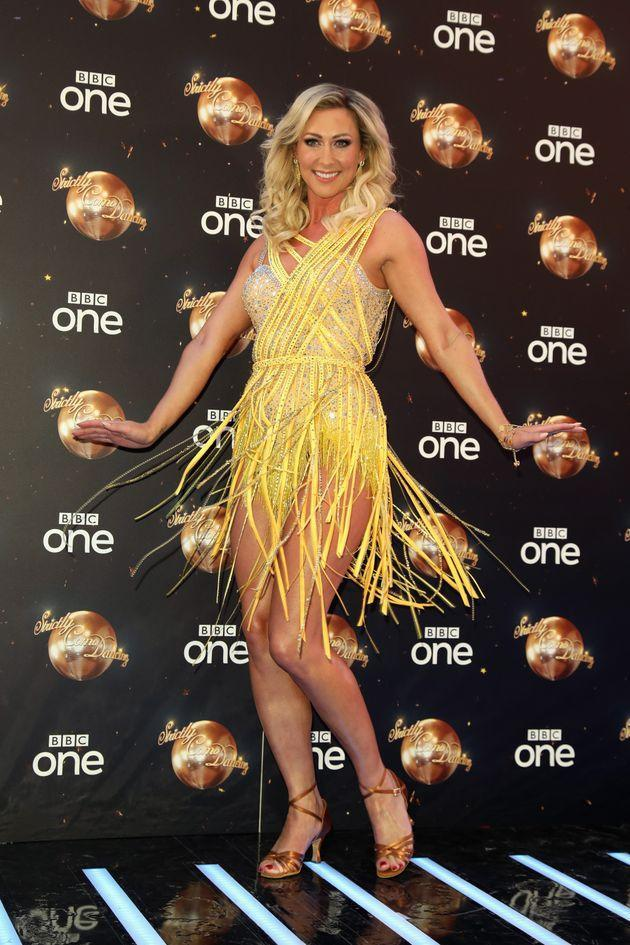 Faye took part in Strictly in 2017 (Photo: Tim P. Whitby via Getty Images)
