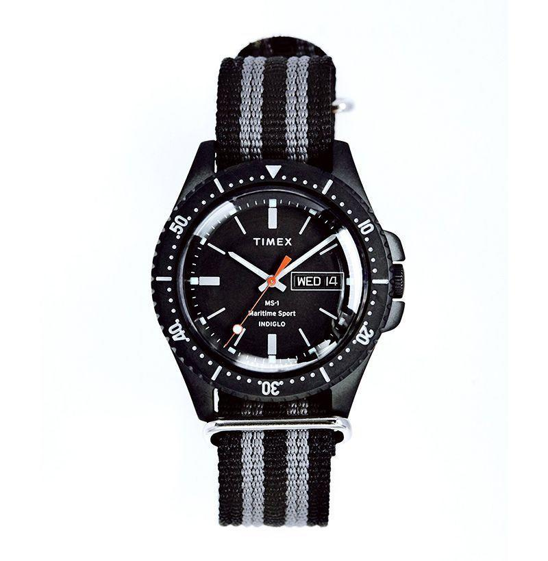 """<p><strong>Timex + Todd Snyder </strong></p><p>toddsnyder.com</p><p><strong>$99.00</strong></p><p><a href=""""https://go.redirectingat.com?id=74968X1596630&url=https%3A%2F%2Fwww.toddsnyder.com%2Fcollections%2Fsale%2Fproducts%2Ftimex-ms1-maritime-sport-black-case-dial-and-strap-black&sref=https%3A%2F%2Fwww.esquire.com%2Fstyle%2Fmens-fashion%2Fg35142070%2Fbest-online-fashion-sales-right-now%2F"""" rel=""""nofollow noopener"""" target=""""_blank"""" data-ylk=""""slk:Shop Now"""" class=""""link rapid-noclick-resp"""">Shop Now</a></p>"""