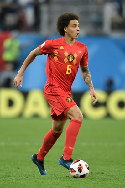 Axel Witsel is the biggest new signing for the new Bundesliga season