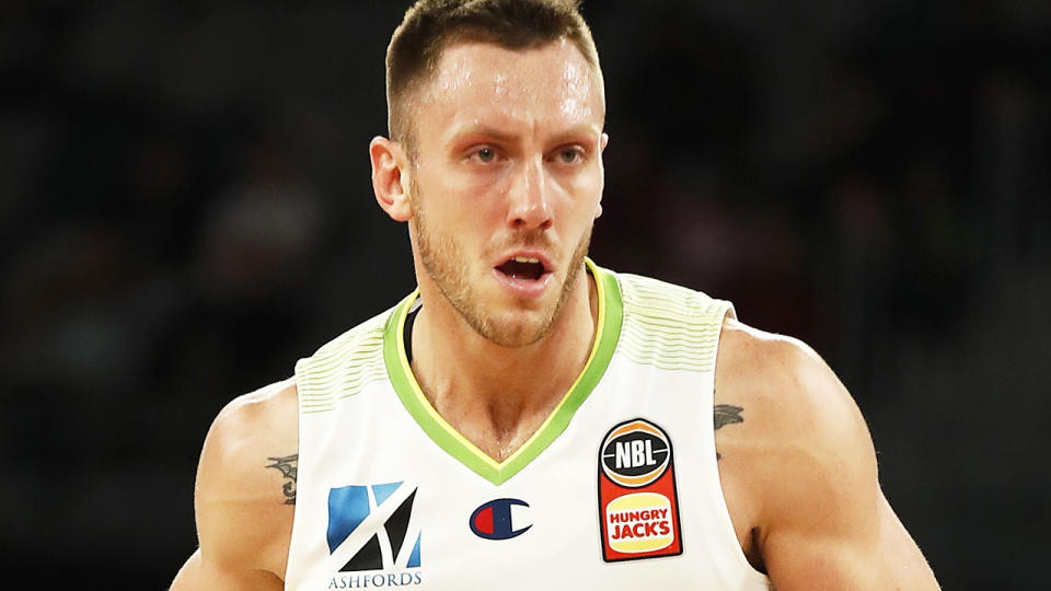South-East Melbourne Phoenix player Mitch Creek has been stood down by the NBL after being charged with assault. (Photo by Daniel Pockett/Getty Images)
