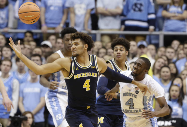 Michigan is one of several Big Ten teams off to a disappointing start so far this season. (AP)