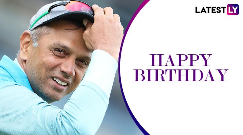 Happy Birthday Rahul Dravid: Lesser Known Facts About the Cricket Legend on His 47th Birthday