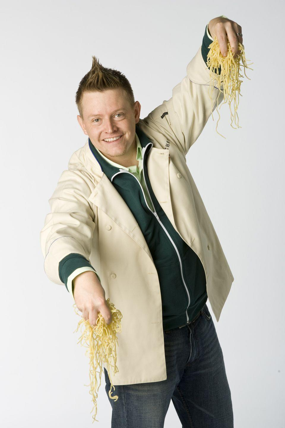 <p>While earning his degree at the Culinary Institute of America, Richard Blais trained under French Laundry chef Thomas Keller and later Daniel Boulud. He was on <em>Top Chef </em>during season four and, although he didn't win, he was a fan favorite and returned for the season eight all-star competition—which he won.</p>