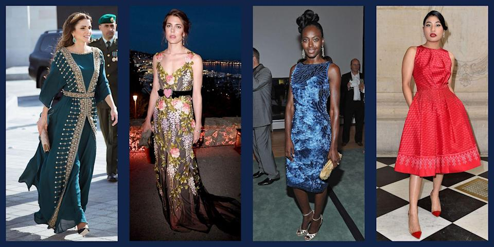 """<p>Catherine, the Duchess of Cambridge, <a href=""""https://www.townandcountrymag.com/style/fashion-trends/news/g1633/kate-middleton-fashion/"""" rel=""""nofollow noopener"""" target=""""_blank"""" data-ylk=""""slk:has been universally lauded for her chic"""" class=""""link rapid-noclick-resp"""">has been universally lauded for her chic</a>, streamlined wardrobe, but there are other royals out there who are just as stylish, if not as famous. From Sweden to Qatar to Thailand, the world certainly does not lack for fashionable ladies who know how to sport a tiara. <em>T&C</em> compiled our favorite looks from the chicest royals around the planet. Each woman featured has customized her royal fashion to reflect both her nation and her personal style. Indeed, the fanfare around a royal wardrobe is certainly deserved for these powerful women. Keep scrolling to read about the most fashionable royals in the world. </p>"""