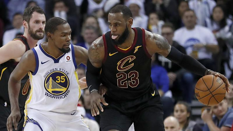 League says refs missed three late Durant fouls, one by LeBron