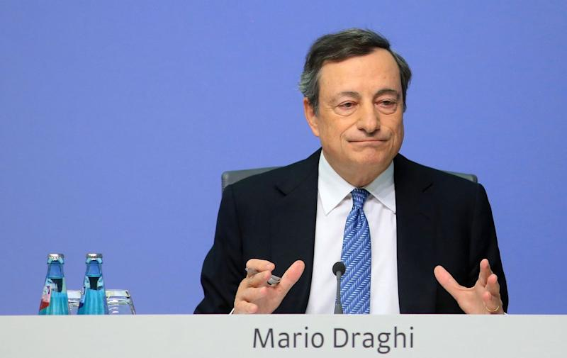 Draghi Confident Higher Pay Will One Day Fan Euro-Area Inflation