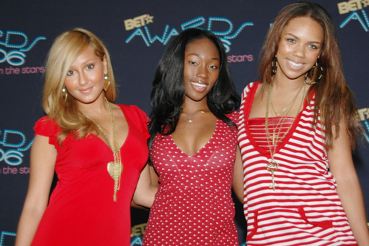 """<p>Adrienne Bailon is a brand unto herself—the host of <em>The Real</em>, she was also a recurring face on early seasons of <em>Keeping Up With the Kardashians</em>, thanks to her relationship with Rob—but her fame all started in 1999 with a girl group called 3LW. <em></em><em></em>You might remember the group's extremely catchy hit """"No More (Baby I'ma Do Right)""""—how could you not?—but do you also recall that two members, Bailon and Iely Williams were members of the Disney Channel original movie about a girl group <em>The Cheetah Girls</em>? Now you do. You're welcome. <em></em></p>"""