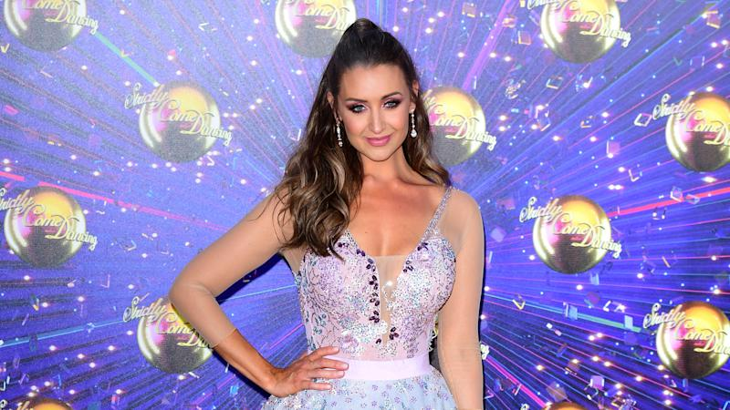 Catherine Tyldesley posts tearful snap as she urges people to talk