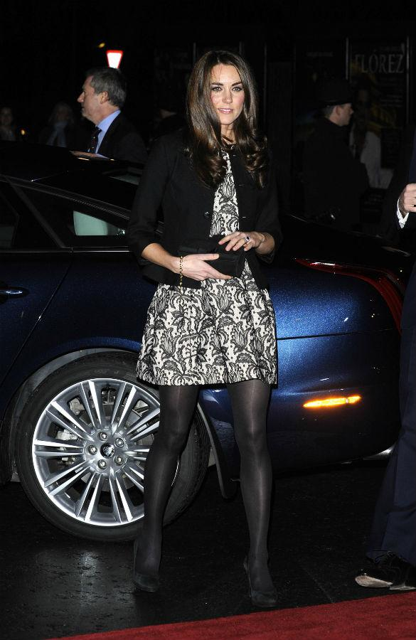Kate Middleton Shows Off Baby Bump In Zara Cape: Get The Look