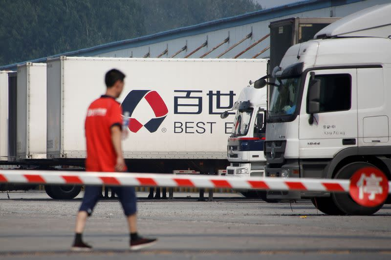 Alibaba-backed Best to list delivery business in Hong Kong
