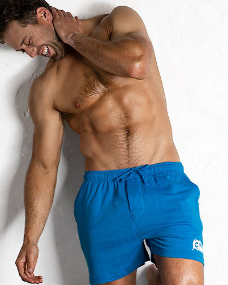 Male model wearing the DreamTime 2.0 shorts from the aussieBum brand