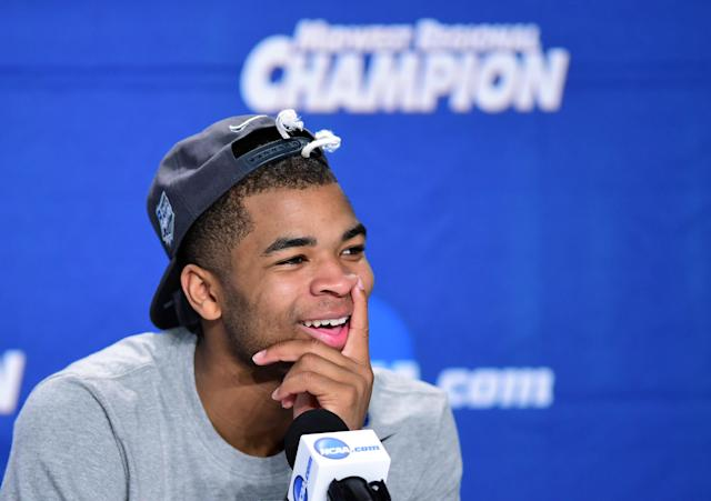 Advice from dad helped spark Kentucky guard Aaron Harrison's huge postseason