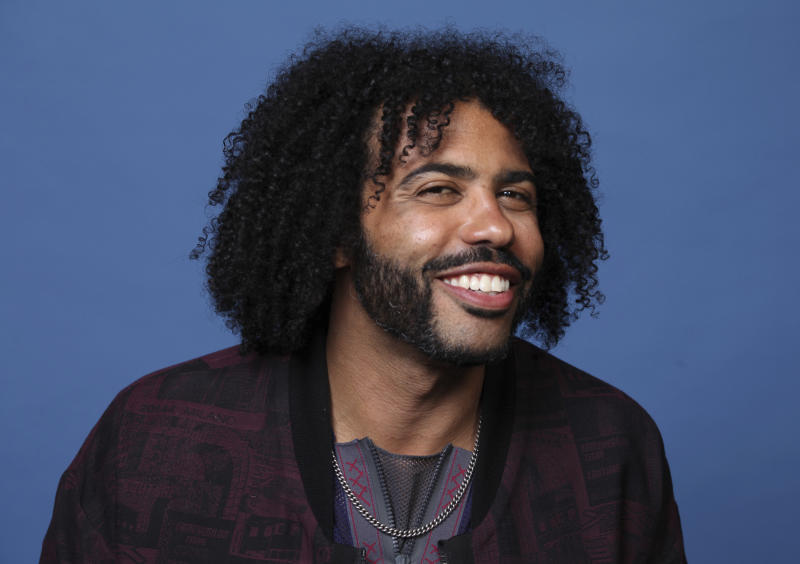 "Daveed Diggs poses for a portrait to promote the television series ""Snowpiercer"" on day three of Comic-Con International on Saturday, July 20, 2019, in San Diego. (Photo by Rebecca Cabage/Invision/AP)"