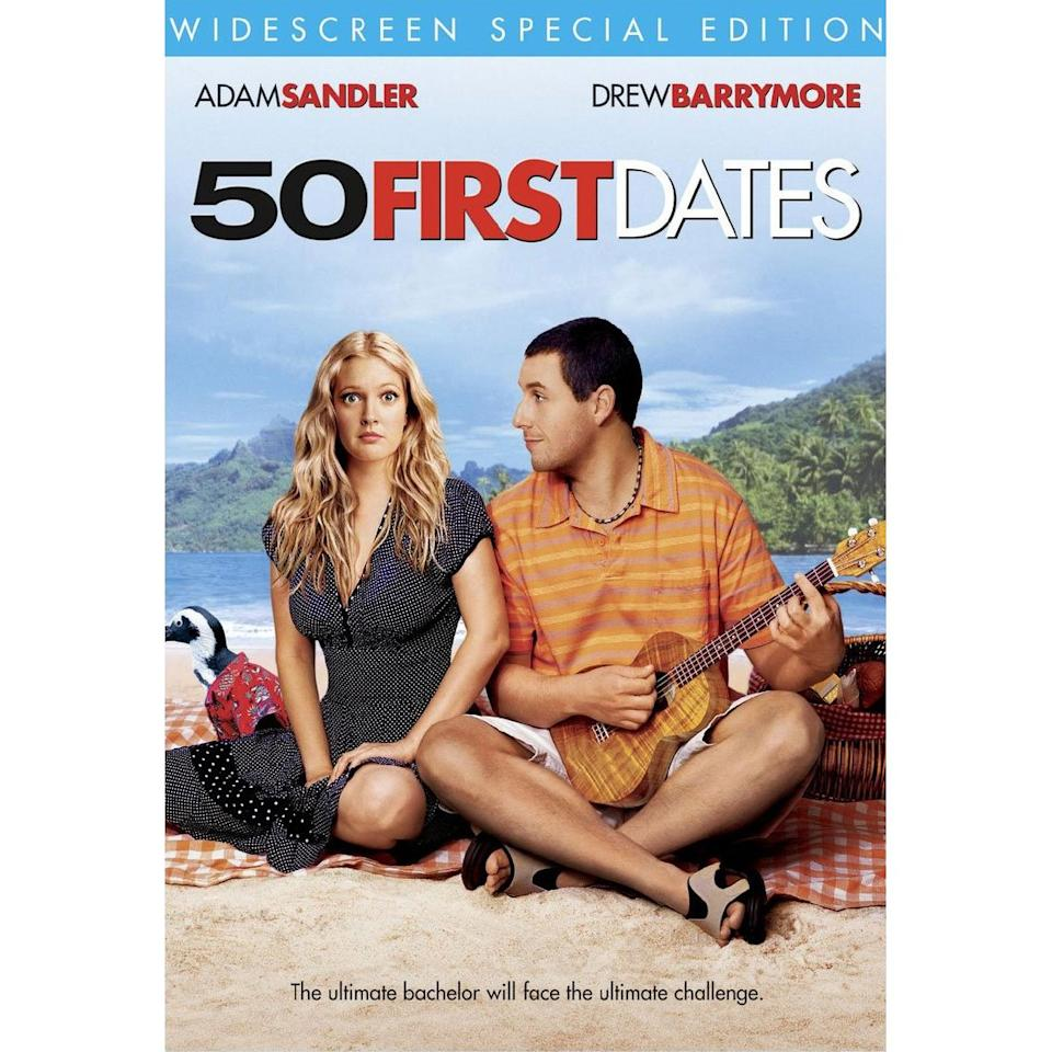 <b>1. 50 First Dates</b><br><br>How about a girl losing her memory every morning she wakes up, and a man making her fall in love with him everyday - the most poignant aspect of the love story being that every time she meets him, he is an absolute stranger to her.