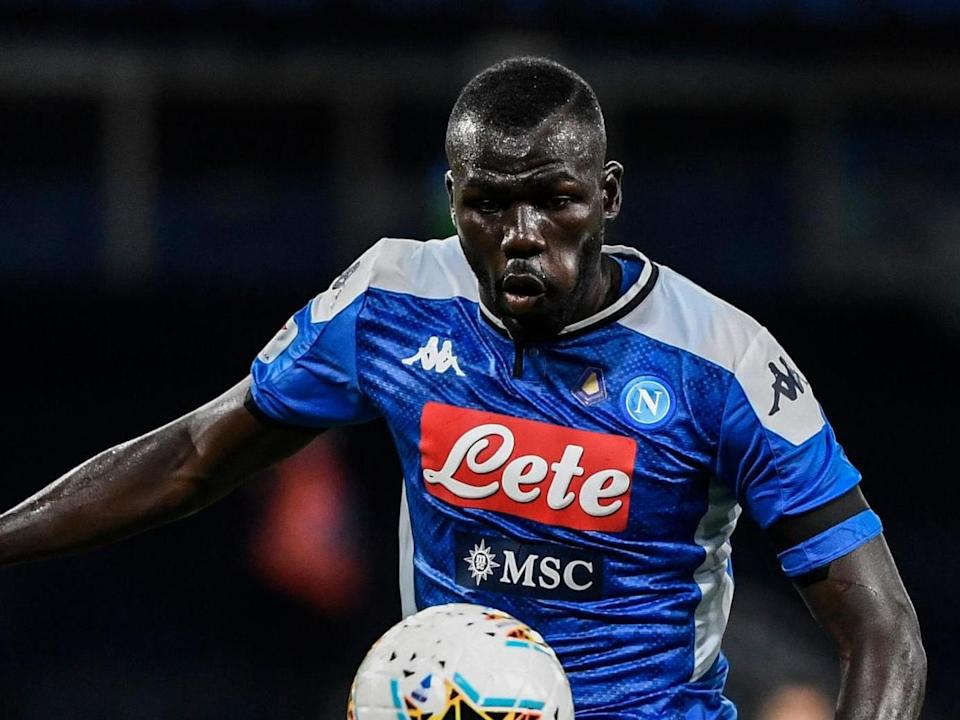 Napoli defender Kalidou Koulibaly has been linked with a move to Manchester City: AFP via Getty Images