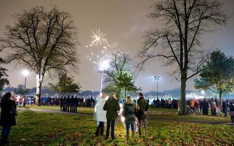 <span>Clapham Common's ample open spaces are ideal for fireworks at night - or football matches in the day</span>