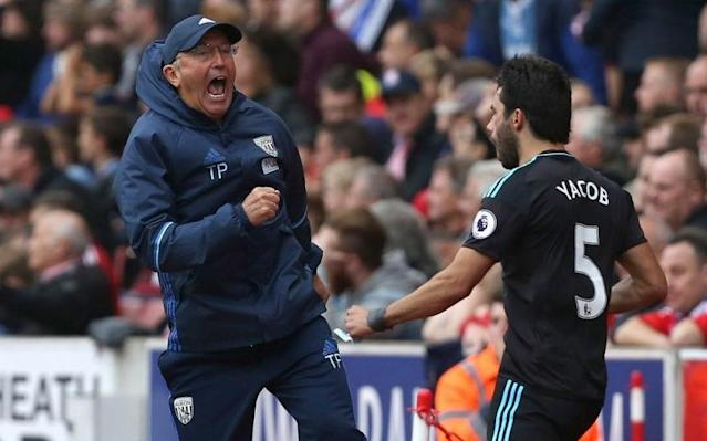 <span>Pulis has often been criticised, but is nothing if not consistent</span> <span>Credit: REX FEATURES </span>