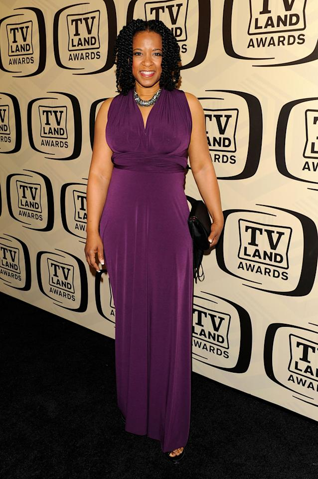T'Keyah Crystal Keymah arrives at the 10th Annual TV Land Awards at the Lexington Avenue Armory on April 14, 2012 in New York City.
