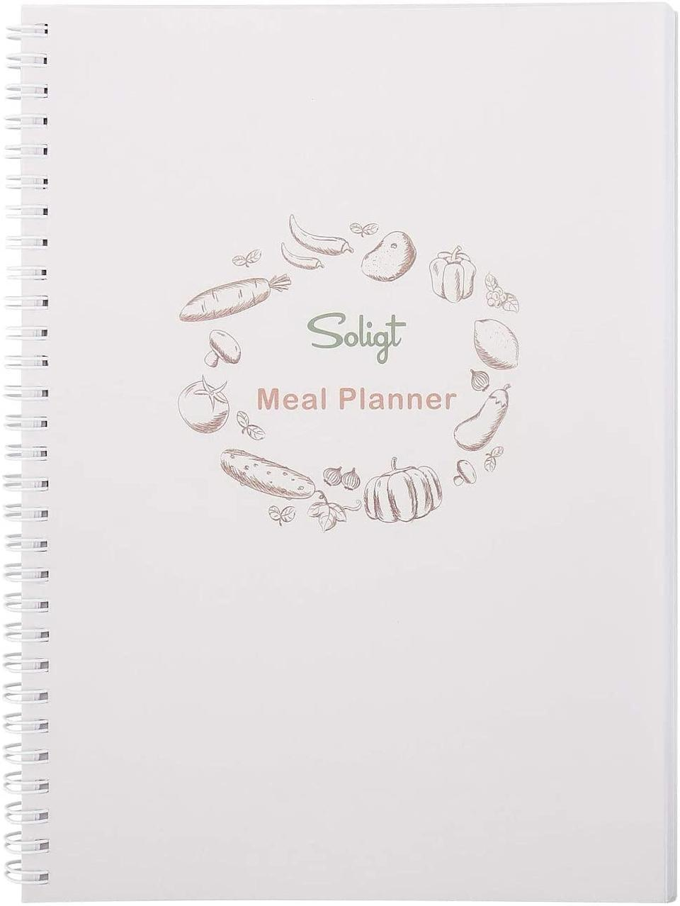 <p>If they're into meal prepping, this <span>Weekly Meal Planner Notebook</span> ($10) is just what they need to stay on track.</p>