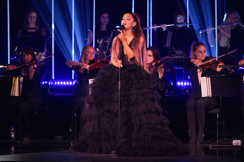 Opening up: Ariana Grande spoke about her anxiety on her BBC special (BBC / Kieran McCarron)