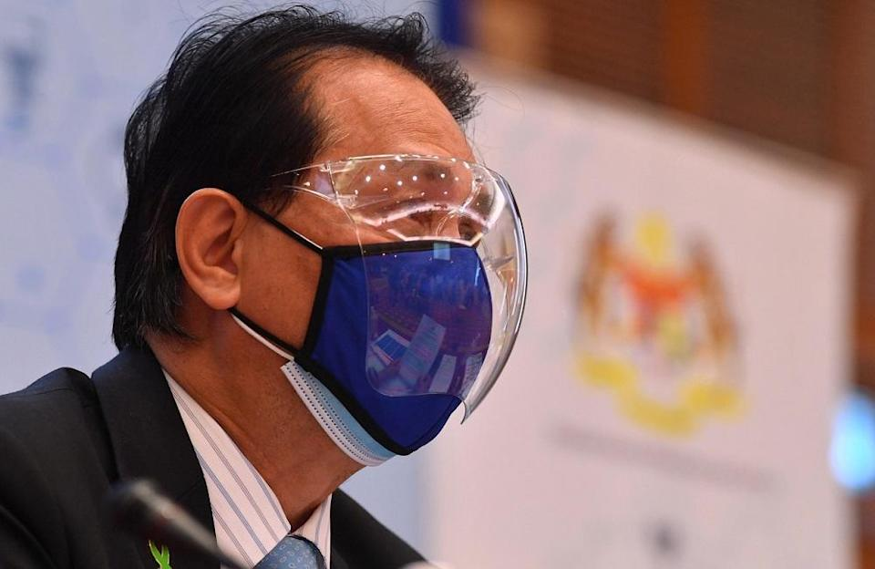 Health director general Tan Sri Dr Noor Hisham Abdullah has said the decision to stop administering vaccines at private clinics was done contrary to his advice. — Bernama pic