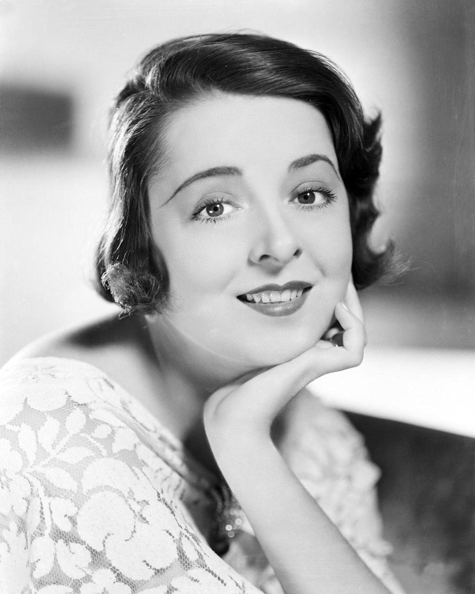 <p>Moore was a '30s silent film star who eventually did talkies and was known for having one blue eye and one brown. Her heterochromia is visible even in her black-and-white portraits from that era.</p>