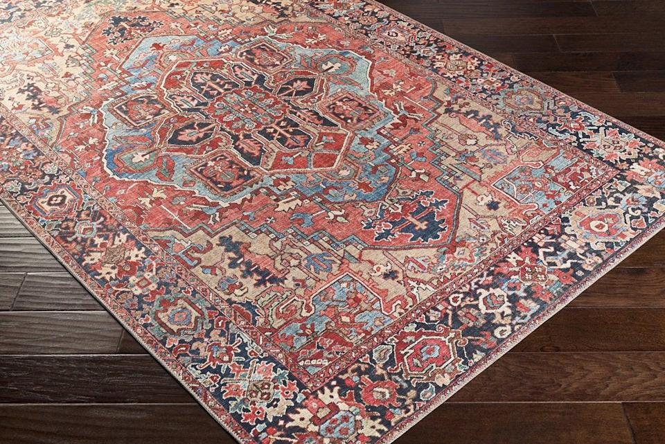 """<h2>Home Decor</h2><br><h3>Boutique Rugs</h3><br><strong>Sale:</strong> 60% off sitewide<br><strong>Promo Code:</strong> 4TH60<br><strong>Dates:</strong> June 21 - July 8<br><br><em>Shop <strong><a href=""""http://boutiquerugs.com"""" rel=""""nofollow noopener"""" target=""""_blank"""" data-ylk=""""slk:Boutique Rugs"""" class=""""link rapid-noclick-resp"""">Boutique Rugs</a></strong></em><br><br><strong>Hauteloom</strong> Neyland Area Rug 5' x 7' 6"""", $, available at <a href=""""https://go.skimresources.com/?id=30283X879131&url=https%3A%2F%2Fboutiquerugs.com%2Fcollections%2Fbest-sellers%2Fproducts%2Fneyland-area-rug"""" rel=""""nofollow noopener"""" target=""""_blank"""" data-ylk=""""slk:Boutique Rugs"""" class=""""link rapid-noclick-resp"""">Boutique Rugs</a>"""
