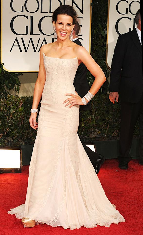 Kate Beckinsale arrives at the 69th Annual Golden Globe Awards in Beverly Hills, California, on January 15.