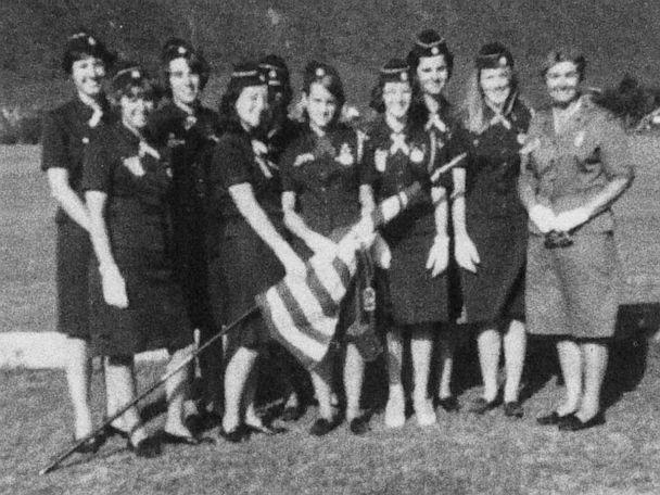 PHOTO: Ronnie Backenstoe pictured with other Girl Scout troop members, circa 1965. (Courtesy Veronica Backenstoe)