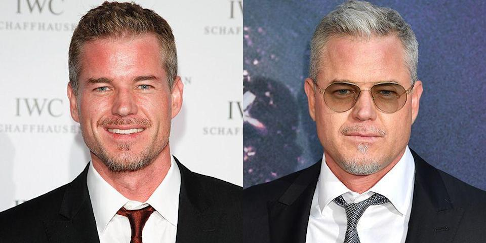 <p><strong>Signature: </strong>Salt and pepper hair</p><p><strong>Without Signature: </strong>At the <em>Euphoria </em>premiere in 2019 with a complete head of gray hair. </p>