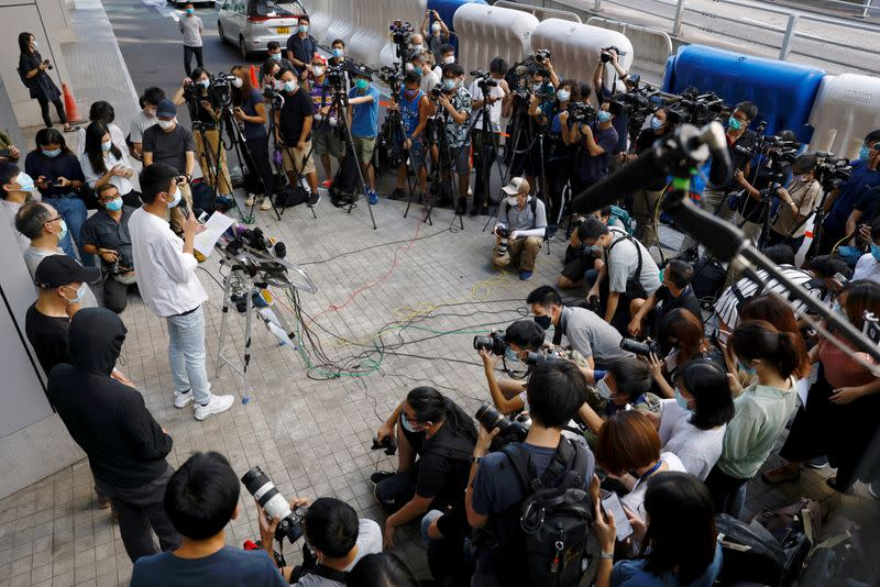 Hong Kong press body says new police media rules could limit scrutiny
