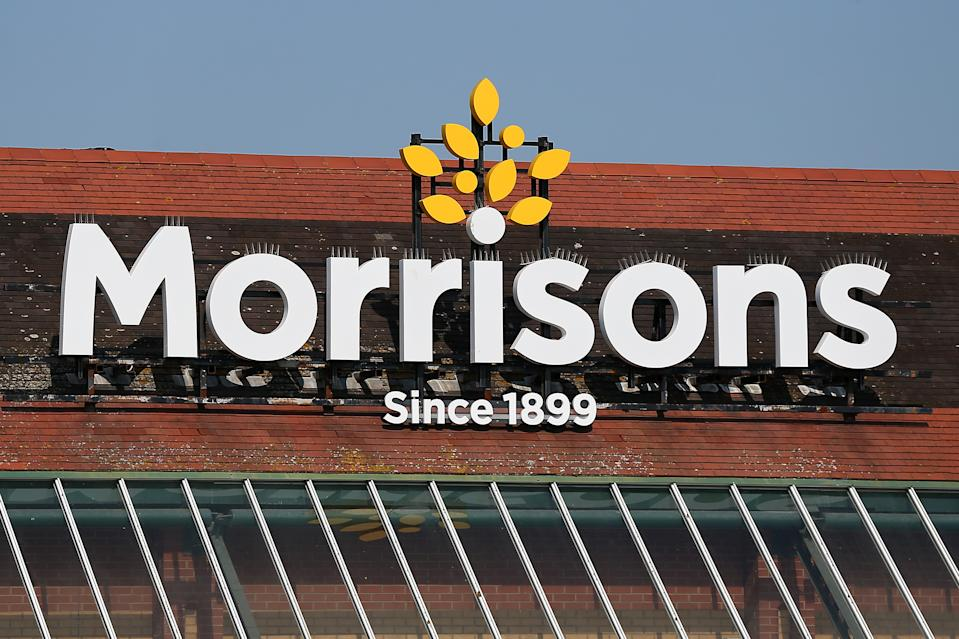 WEST KIRBY, UNITED KINGDOM - JUNE 24: A general view of a Morrisons supermarket on June 24, 2020 in West Kirby, United Kingdom. (Photo by Lewis Storey/Getty Images)