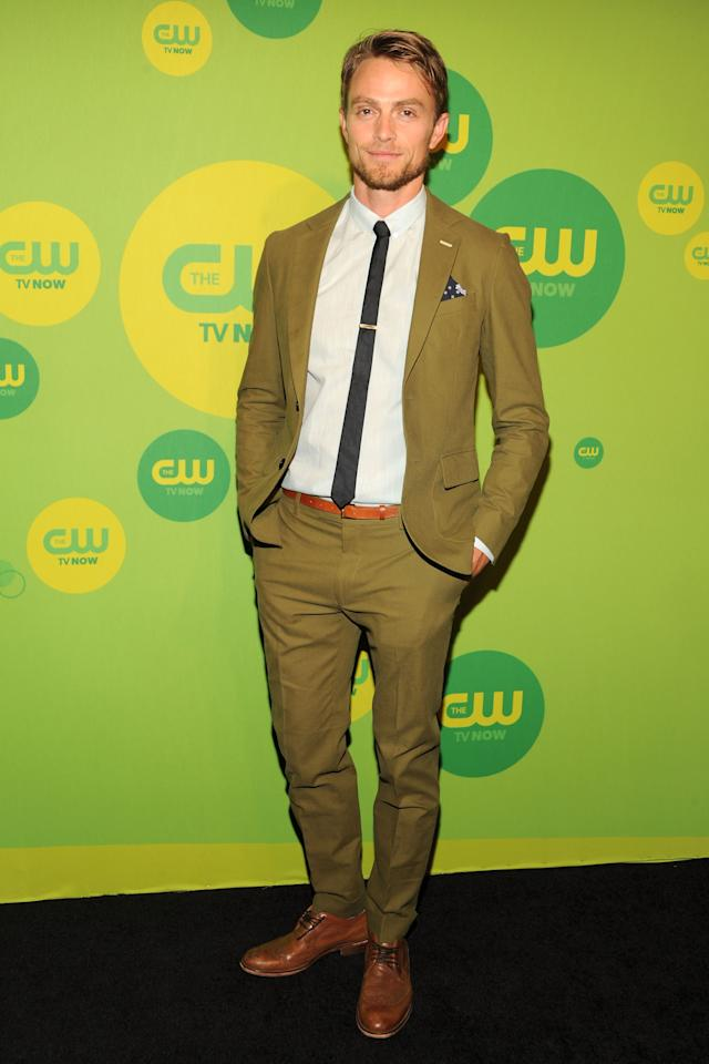 NEW YORK, NY - MAY 16:  Actor Wilson Bethel attends The CW Network's New York 2013 Upfront Presentation at The London Hotel on May 16, 2013 in New York City.  (Photo by Ben Gabbe/Getty Images)