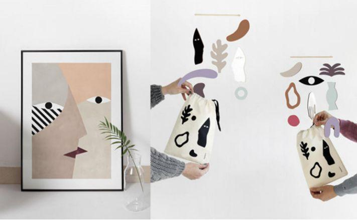 """<a href=""""https://fave.co/33ENywm"""" target=""""_blank"""" rel=""""noopener noreferrer"""">Depeapa</a> is a Latinx-owned Etsy shop in Granada, Spain, that specializes in prints and mobiles using female figures and geometric shapes. Shop this <a href=""""https://fave.co/3iJd1ve"""" target=""""_blank"""" rel=""""noopener noreferrer"""">Guateque Jarana Collection for $21</a> at <a href=""""https://fave.co/33ENywm"""" target=""""_blank"""" rel=""""noopener noreferrer"""">Depeapa on Etsy</a>."""