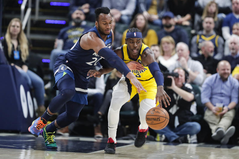 TIMBERWOLVES-PACERS