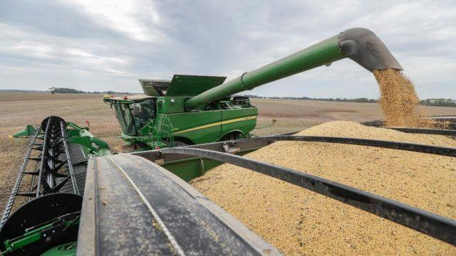 U.S. farmers have been hit hard by the trade war with China.