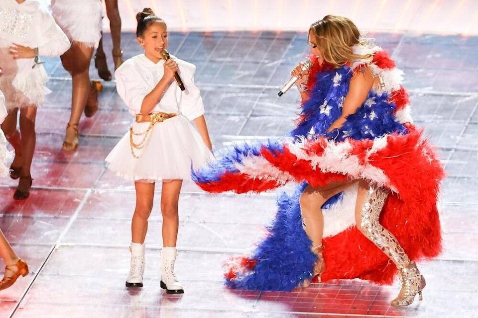 Jennifer Lopez and her daughter | Elsa/Getty