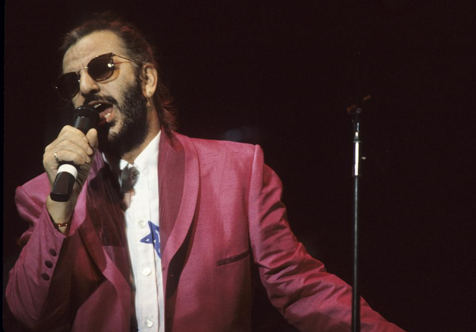 Ringo Starr and His All-Starr Band in Concert in 1989. (Photo: L. Busacca/WireImage)