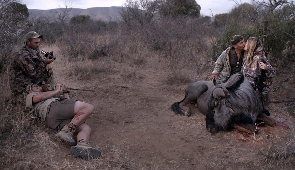"""<p>Originally aired on CNN, this troubling documentary explores the world of big-game hunting and the industry's constant battle with wildlife conservationists. The film revolves around lifelong hunter Philip Glass and rhino breeder John Hume, and though their rivalry isn't nearly as contentious as Joe Exotic and Carole Baskin's, it still makes for a compelling watch. Warning: this one isn't for the faint of heart. </p> <p>Watch <a href=""""http://www.netflix.com/title/80168084"""" class=""""link rapid-noclick-resp"""" rel=""""nofollow noopener"""" target=""""_blank"""" data-ylk=""""slk:Trophy""""><strong>Trophy</strong></a> on Netflix now.</p>"""