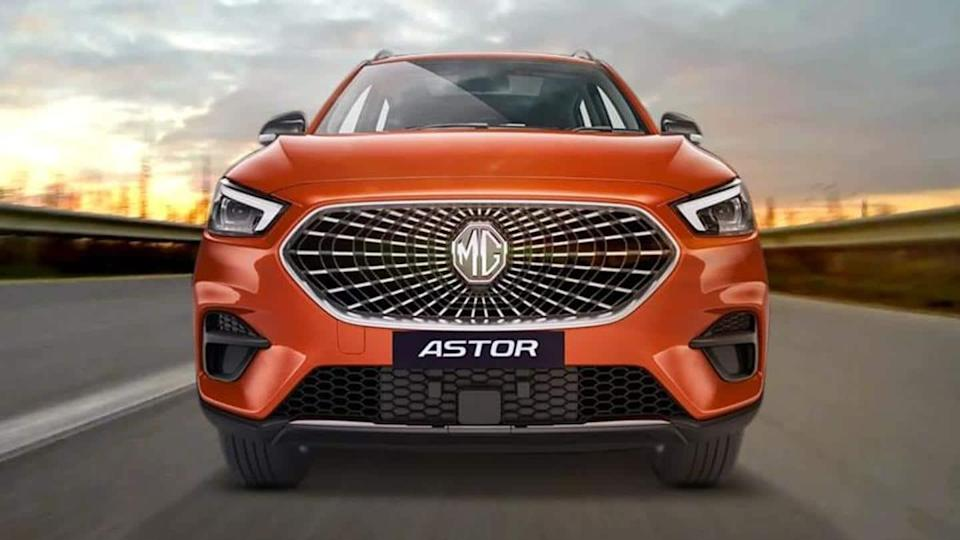 MG Astor SUV to be launched in India in October