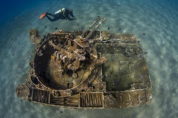 """The Tank,"" recognized as ""Highly Commended"" in the UPY category ""International Wrecks."""