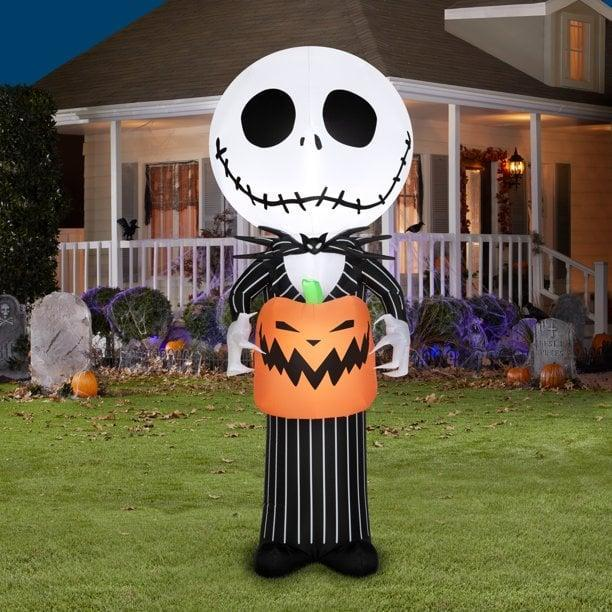 <p>Add Disney flair to your decor with this five-foot <span>Airblown Inflatables <strong>The Nightmare Before Christmas</strong> Stylized Jack Skellington</span> ($29). It's such a fun find, we won't be surprised if your yard becomes the new Instagram spot!</p>