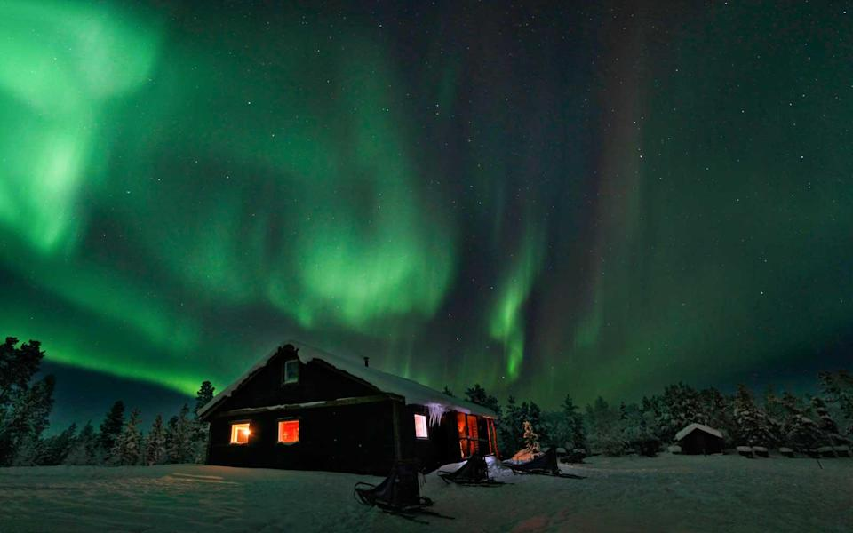 """<p>The northernmost town in Sweden, Kiruna in Lapland is at 68° N, and ideally placed for exploring local Sámi culture and the remote Abisko National Park. To celebrate the rend of the Polar Night, Kiruna will hold its annual <a rel=""""nofollow noopener"""" href=""""http://www.snofestivalen.com"""" target=""""_blank"""" data-ylk=""""slk:Snöfestivalen"""" class=""""link rapid-noclick-resp"""">Snöfestivalen</a> (including snow-sculptures and kid's playgrounds built with snow). The main festival day takes place on Saturday, January 27, 2018.</p>"""