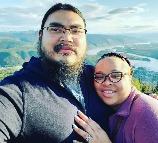 Tyrell Vance (left) and Gold Ugochukwu (right) are tying the knot this Valentine's Day. CBC North spoke to four Yukoners whose love is only growing stronger.
