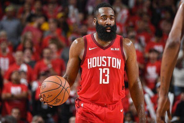 James Harden was Houston's hero yet again. (Getty)