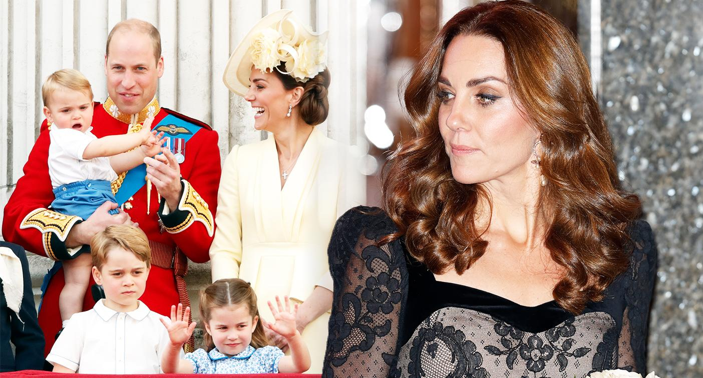 The Duchess of Cambridge told George, Charlotte and Louis they couldn't attend the Royal Variety event. [Photo: Getty]