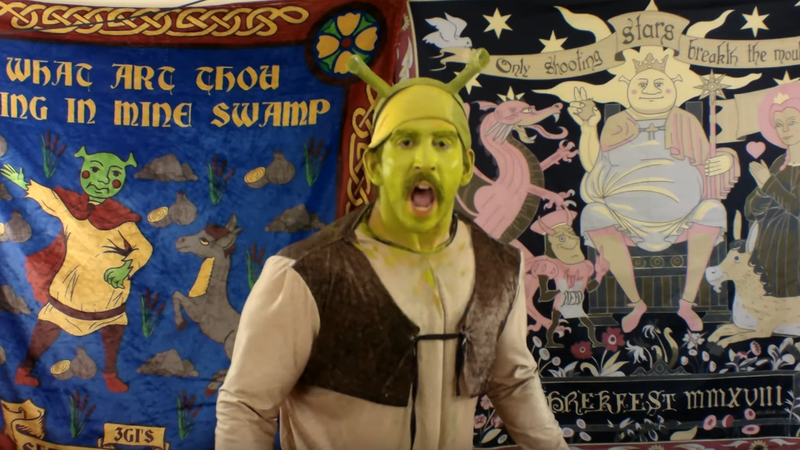 Faces of the damned, as collected in Shrekfest TV - Vol. 5.