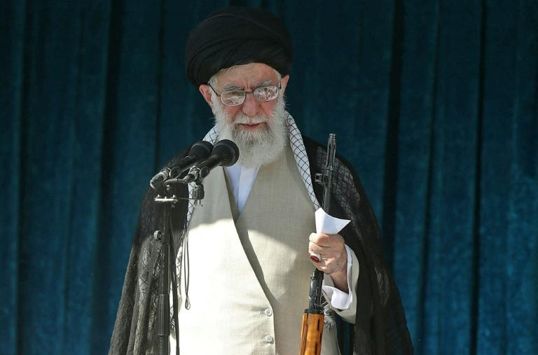 Iranian supreme leader Ayatollah Ali Khamenei and eight senior commanders of the Islamic Revolutionary Guard Corps are targeted by existing US sanctions