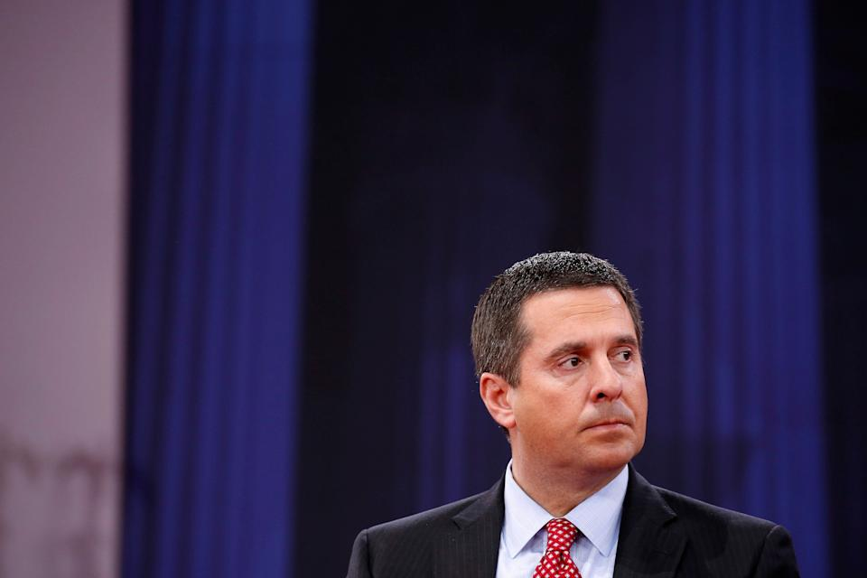 "Rep. Devin Nunes (R-Calif.), the chairman of the House Intelligence Committee, said he publicly supports the removal of Deputy Attorney General Rod Rosenstein, but the issue is a ""matter of timing."" (Photo: Joshua Roberts/Reuters)"