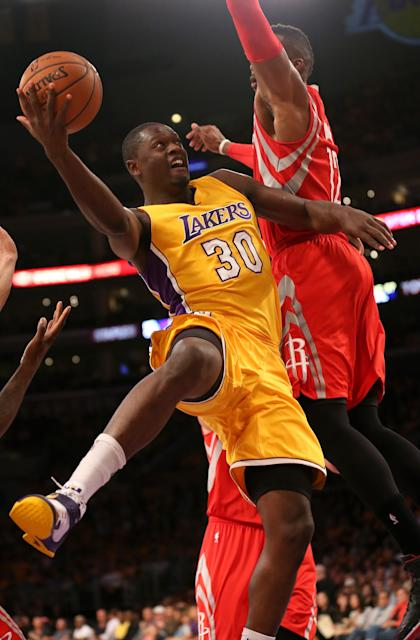 Julius Randle could be one of the cornerstone pieces of the Lakers' future. (Getty Images)